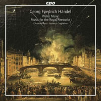 Handel: Music for the Royal Fireworks, Water Music Suites - L'Arte dell'Arco