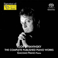 Stravinsky: The Complete Published Piano Works - Giacomo Franci