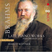 Brahms: Complete Piano Music, Vol 3 - Rittner