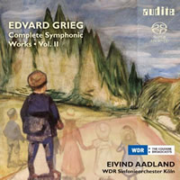 Grieg: Complete Symphonic Works Vol. 2 - Aadland