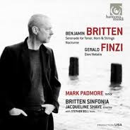 Britten and Finzi Song Cycles - Mark Padmore
