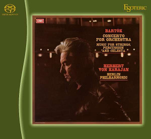 Bartok: Concerto for Orchestra, Music for Strings, Percussion & Celesta - Karajan