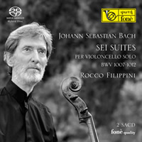 Bach: 6 Cello Suites - Filippini