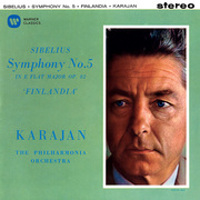 Sibelius: Symphony No. 5, Mussorgsky: Pictures at an Exhibition - Karajan