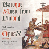 Baroque music from Finland - Lindeberg / Mattson