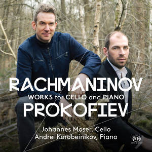 Rachmaninov, Prokofiev: Works for Cello and Piano - Moser, Korobeinikov
