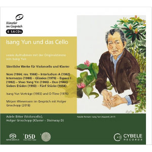 Yun and the cello - Artists in Conversation, Vol. 11