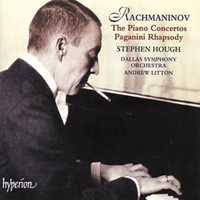 Rachmaninov: 4 Piano Concertos, Paganini Rhapsody - Hough / Litton