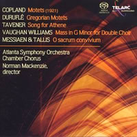 A Cappella Works by Copland, Duruflé, Vaughan Williams etc. - Mackenzie