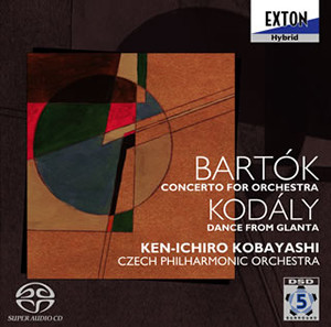 Bartok: Concerto for Orchestra / Kodaly: Dances from Galanta - Kobayashi