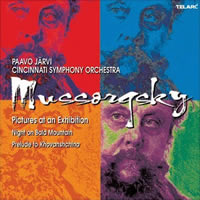 Mussorgsky: Pictures at an Exhibition etc. - Järvi