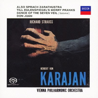 Strauss: Also sprach Zarathustra, Don Juan, Till Eulenspiegel - Karajan