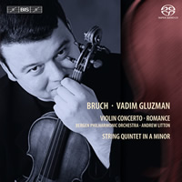 Bruch: Violin Concerto No. 1 - Gluzman / Litton