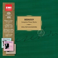Debussy: Complete Piano Music - Gieseking