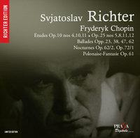 【Praga Digitals Reminiscences】 - Chopin: Etudes Opp 10, 25; Ballades; Nocturnes - S. Richter