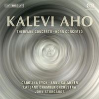 Aho: Theremin Concerto, Horn Concerto - Eyck / Salminen / Storgårds