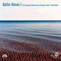 Estonian Philharmonic Chamber Choir, Hillier: Baltic Voices 1