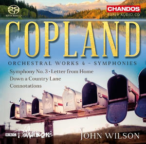 Copland: Orchestral Works, Vol. 4 (Symphonies) - Wilson