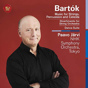 Bartók: Music for Strings, Percussion and Celesta, Dance Suite, Divertimento for Strings - Järvi
