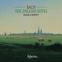 Bach: English Suites - Hewitt