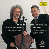 Dvorak: Cello Concerto, Richard Strauss: Don Quixote - Maisky