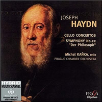 Haydn: Cello Concertos, Symphony No. 22 - Kanka/Prague CO