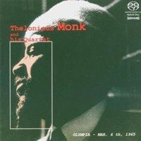 Thelonious Monk: Olympia, March 6th 1965