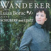 Wanderer, Works by Liszt and Schubert - Luiza Borac