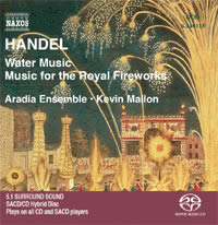Handel: Water Music, Music for the Royal Fireworks - Mallon