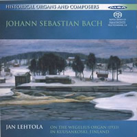 Historical Organs and Composers 1: Bach Transcriptions - Lehtola