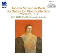 Bach: 6 Cello Suites - Ryo Terakado