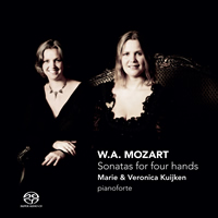 Mozart: Sonatas for four hands - Marie & Veronica Kuijken