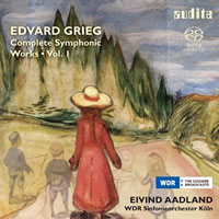 Grieg: Complete Symphonic Works Vol. 1 - Aadland