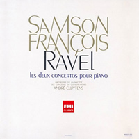 Ravel: Piano Concerto, Concerto for the left hand - Francois, Cluytens