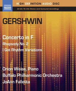 Gershwin: Piano concerto, Second Rhapsody - Weiss