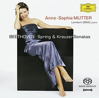Beethoven: Violin Sonatas 5 & 9 - Mutter / Orkis