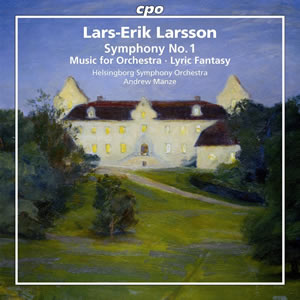 Larsson: Orchestral Works, Vol. 1 - Manze