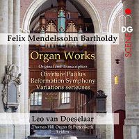 Mendelssohn: Organ works - van Doeselaar