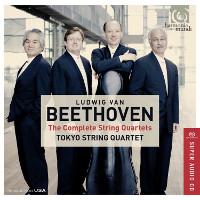 HRAudio net - Beethoven: 16 String Quartets - Tokyo String Quartet
