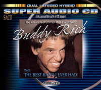 Buddy Rich: The Greatest Drummer That Ever Lived... With the best Band I Ever Had