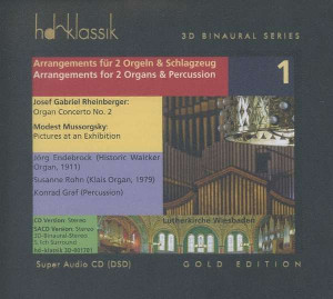 Arrangements for 2 Organs and Percussion, Vol. 1 - Endebrock / Rohn / Graf