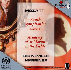 Mozart: Youth Symphonies Vol. 1 - Marriner
