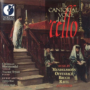 The Cantoral Voice of the Cello - Bloemendal, Tryon