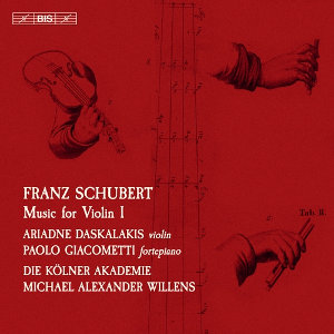 Schubert: Music for VIolin, Vol 1 - Daskalakis, Giacometti, Willens