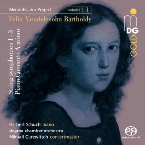 Mendelssohn Project, Vol 1 - Schuch, Gurewitsch