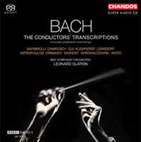 Bach: The Conductors' Transcriptions - Slatkin