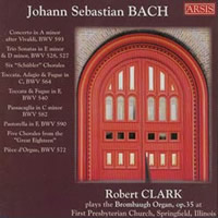 Bach: Organ Works - Clark