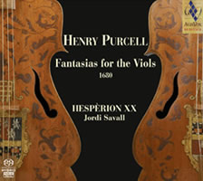 Purcell: Fantasias for the viols, 1680 - Savall