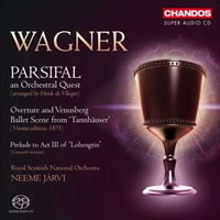 Wagner: Parsifal, an Orchestral Quest - Järvi