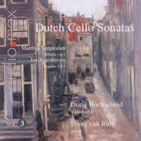 Dutch Cello Sonatas, Vol 3 - Hochscheid / van Ruth